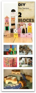 DIY Budget Friendly Toy Blocks Ideas