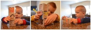 playing-with-their-vintage-photo-stacking-blocks