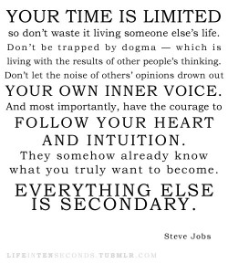 steve-jobs-quote -your-time-is -limited